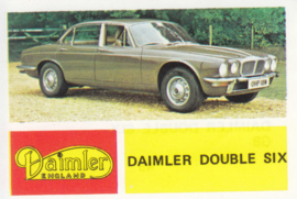 Daimler Double Six Saloon, 4 languages, # 49