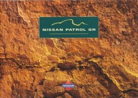 Patrol GR 4x4 brochure, 44 pages + specs. insert, 02/1999, German language