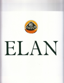 Elan Convertible brochure, 14 pages, c1990, factory-issued, English language