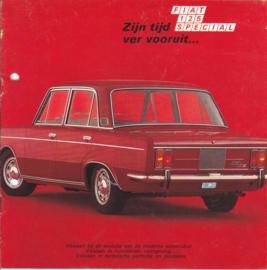 125 Special Sedan brochure, 8 square pages, about 1966, Dutch language