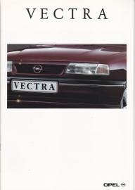 Vectra brochure, 28 pages, 09/1992, Dutch language