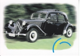 11 CV Traction Avant, Citycards freecard, A6-size, # 0150, German language