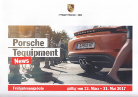 Tequipment News brochure, 8 pages, 03/2017, Austria, German language