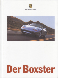 Boxster brochure, 82 pages, 07/1998, hard covers, German %