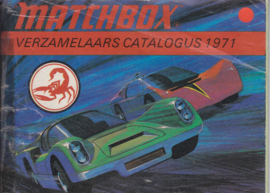 Matchbox brochure, 64 pages, 1971, Dutch language
