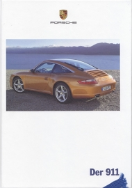 911 Carrera brochure, 182 pages, 05/2006, hard covers, German