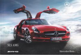 SLS AMG sportscar brochure, 84 pages, 03/2010, German language