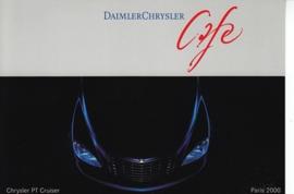Chrysler PT Cruiser, A6-size postcard, Paris 2000