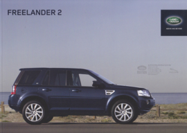 Freelander 2 brochure, 72 pages, A4-size, 2013, Dutch language