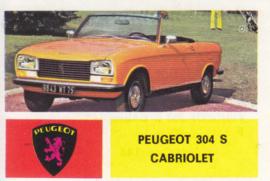 Peugeot 304 S Cabriolet, 4 languages, # 144