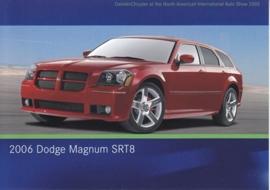 Dodge Magnum SRT8 2006, A6-size postcard, NAIAS 2005