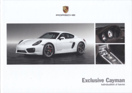 Cayman Exclusive brochure, 56 pages, 11/2014, hard covers, Dutch