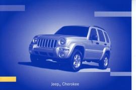 Jeep Cherokee, A6-size postcard, IAA 2001
