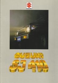 SJ 410 brochure, 12 pages, #80000, 2000, Dutch language