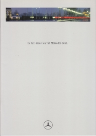 Taxi-Models brochure. 20 pages, 11/1992, Dutch language