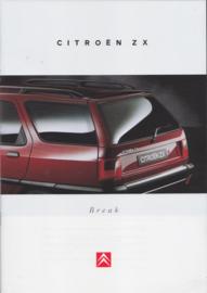 ZX Break brochure, 28 pages, 07/1995, Dutch language