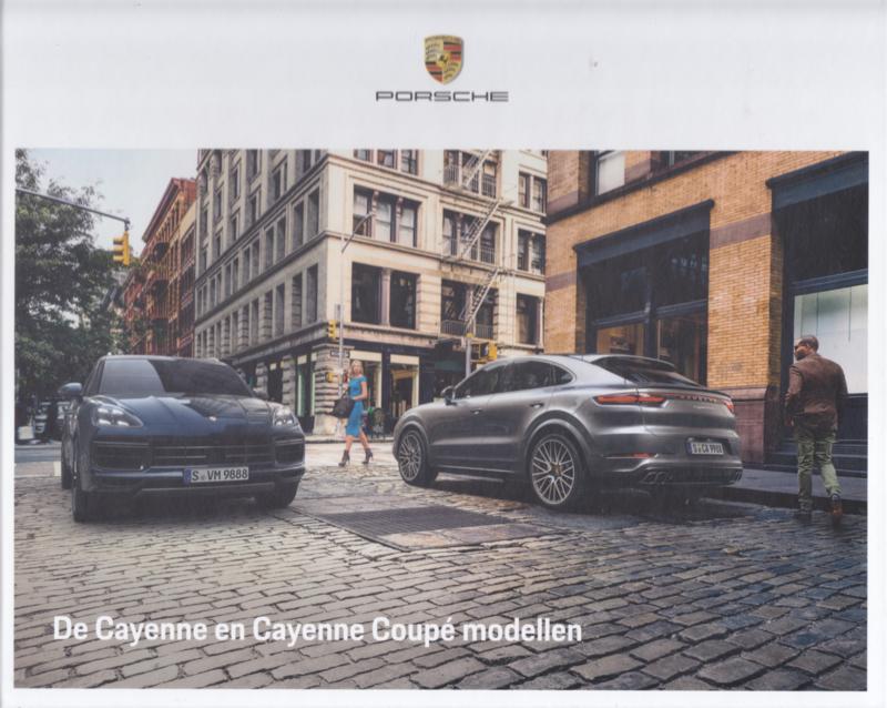 Cayenne/Cayenne Coupé brochure, 96 large pages, 11/2020, hard covers, Dutch language