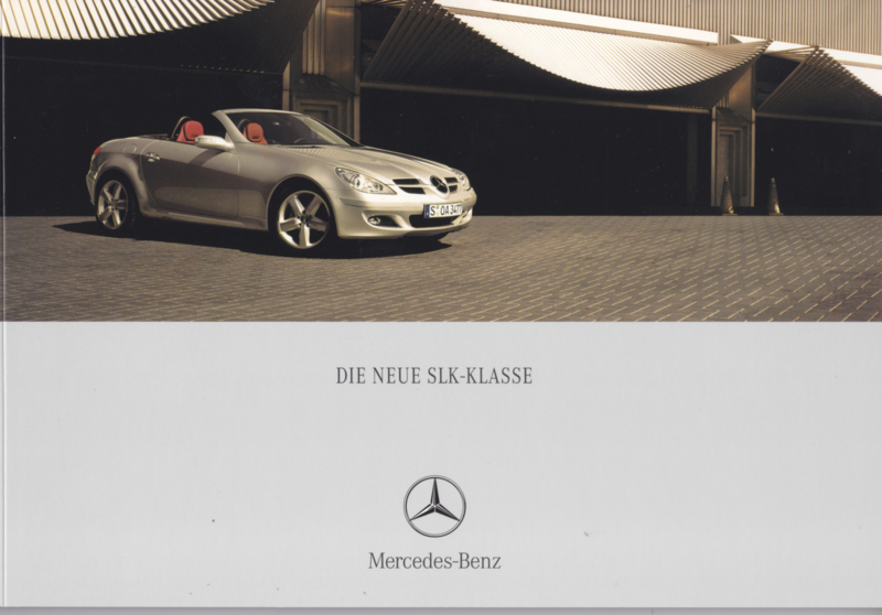 SLK Class brochure. 58 pages, 03/2004, German language