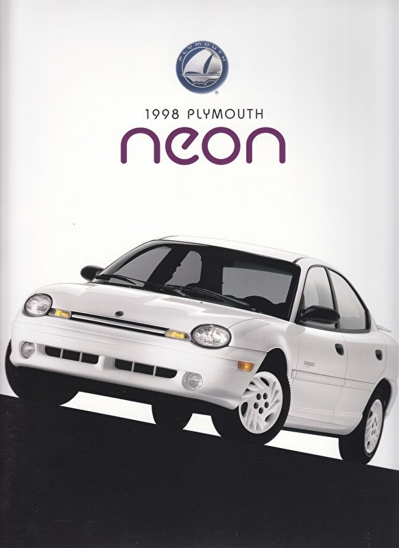 Neon large size brochure 1998, 30 pages, 09/1997, USA
