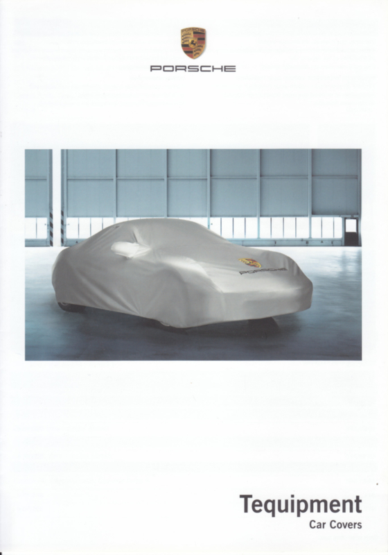 Tequipment Car Covers folder, 4 pages, 04/2009, Dutch/French language