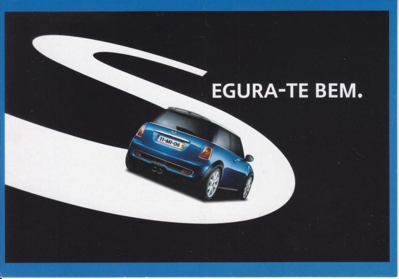Cooper, DIN A6-size, PubliCards freecard, Portuguese language, # 1042