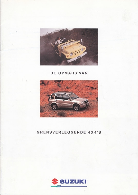 4x4  History brochure 1968-2000, 12 pages, #60800, Dutch language