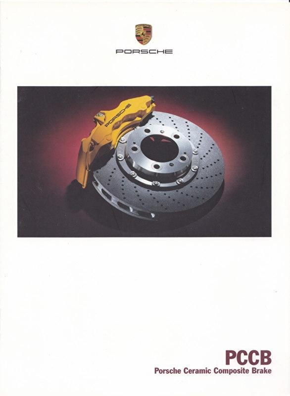 Ceramic brakes - PCCB brochure, 8 pages, 02/2003, Dutch language