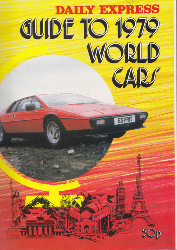 Daily Express Guide to 1979 World Cars, 84 pages, 1979, English language