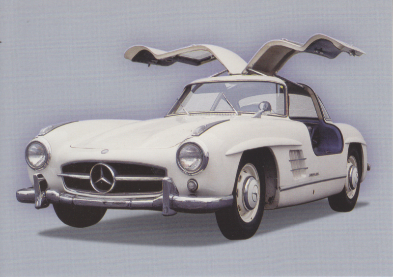 Mercedes-Benz 300 SL 1955, Classic Car(d) of the month 3/2002, Germany