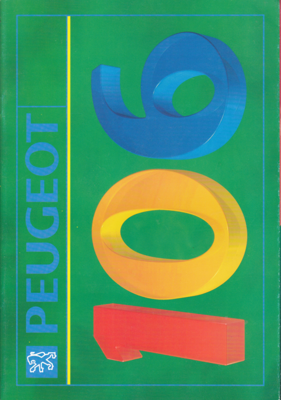 106 brochure, 38 pages, A4-size, 10/1991, English language