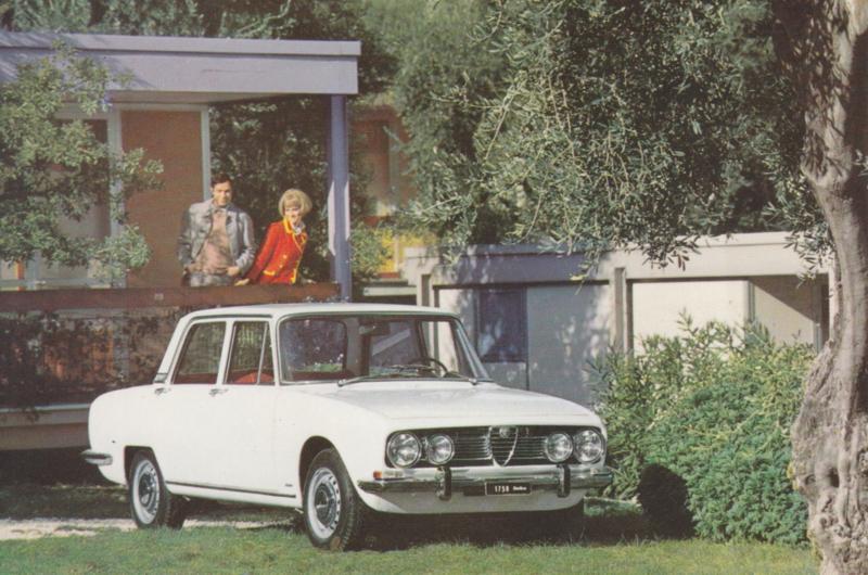 1750 Berlina postcard, DIN A6-size, about 1970, mint