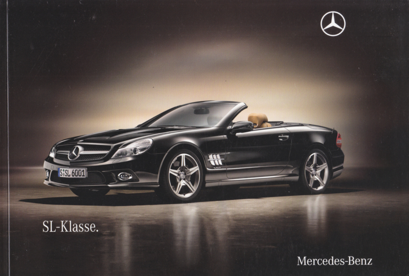 SL-class brochure, 108 pages, 06/2009, German language