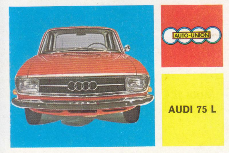 Audi 75 L Sedan, 4 languages, # 16
