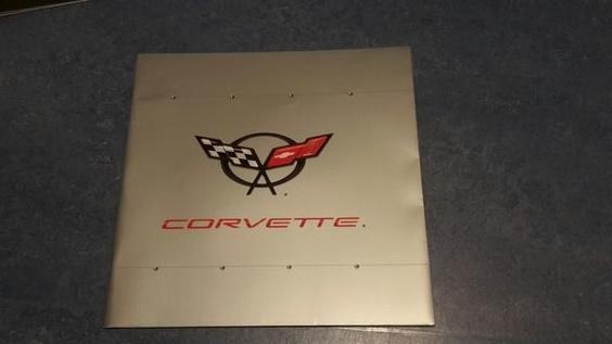 Corvette C5 Coupe & Cabriolet brochure, 42 pages, export, Dutch language, MY 2003