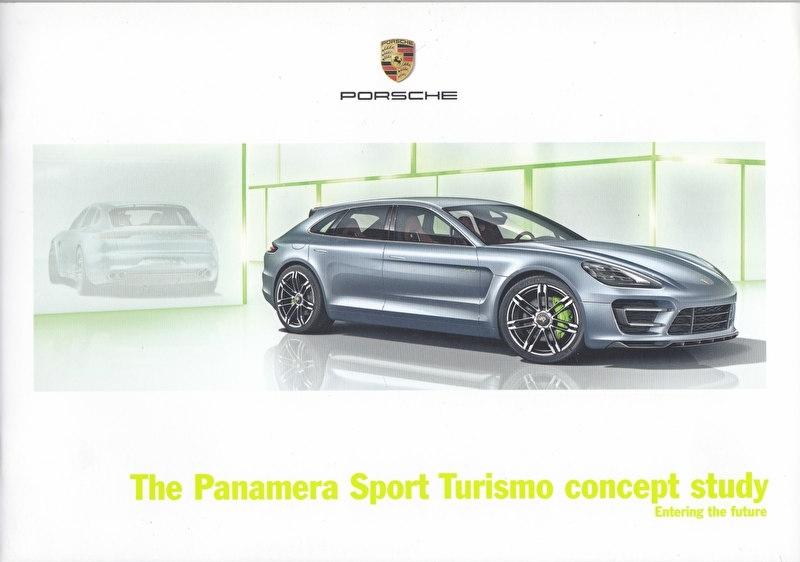 Panamera Sport Turismo concept study brochure, 20 pages, 09/12, English language