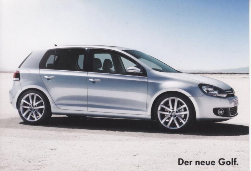 Golf postcard,  A6-size, German language, about 2012