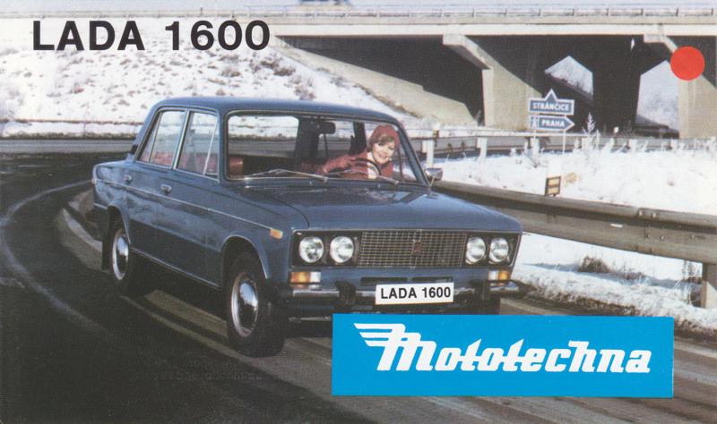 1600 Sedan brochure, 4 pages, about 1975, Slowakian language