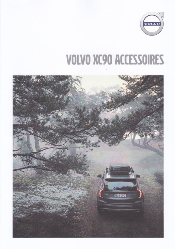 XC90 accessories brochure, 4 pages, MY19, 06/2018, Dutch language