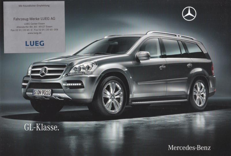 GL-class brochure, 20 pages, 05/2009, German language