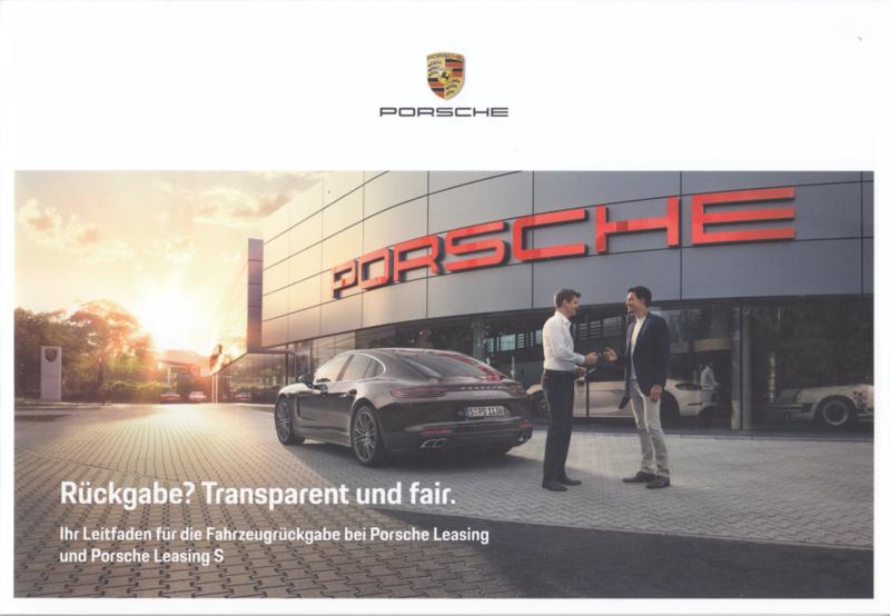 Leasing Return brochure, 28 pages, 02/2018, German language