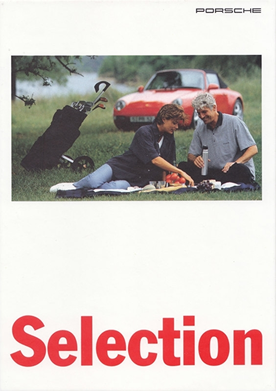 Selection brochure, 90 pages, 08/1995, hard covers, German language