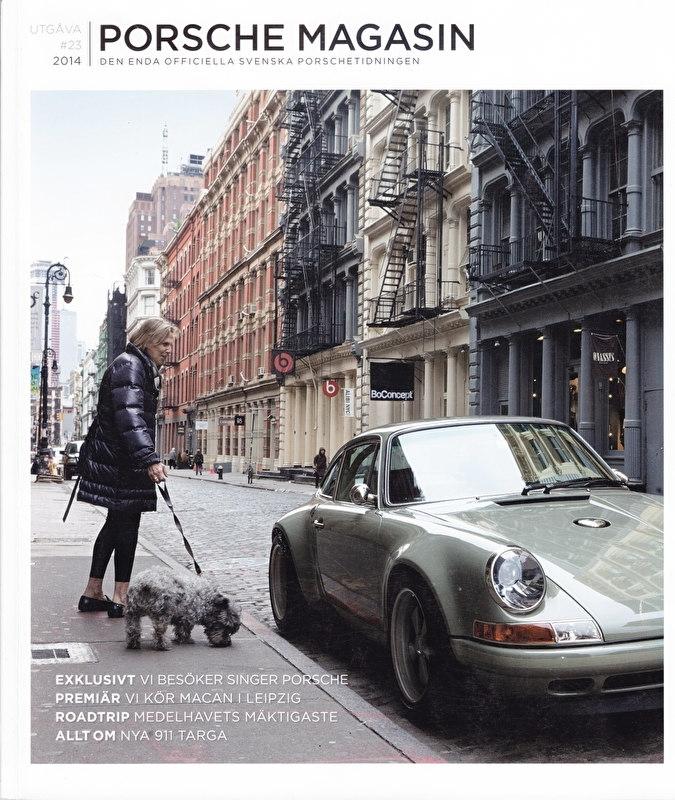 Porsche Magasin, Swedish language, # 23, 2014, 100 pages