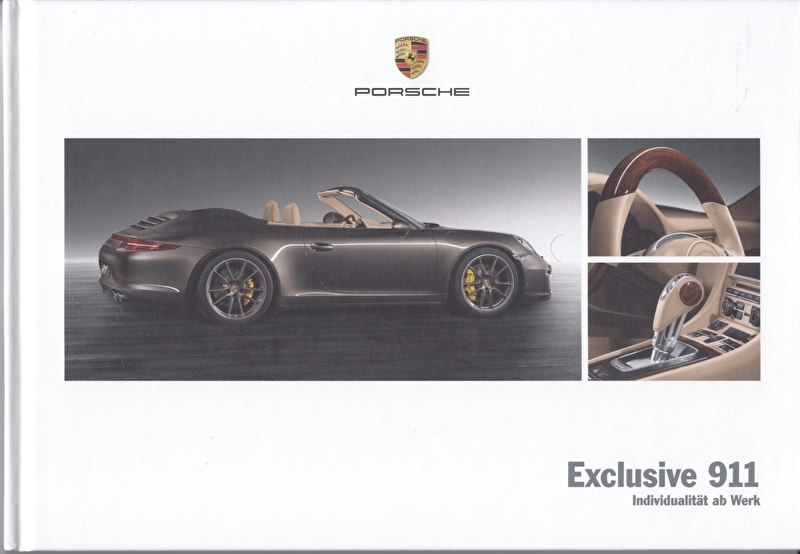 911 Exclusive, 52 pages, 05/2012, hard covers, German