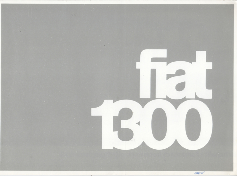 1300 Sedan/1300+1500 Familiale brochure, 14 pages, 11/1965, Dutch language