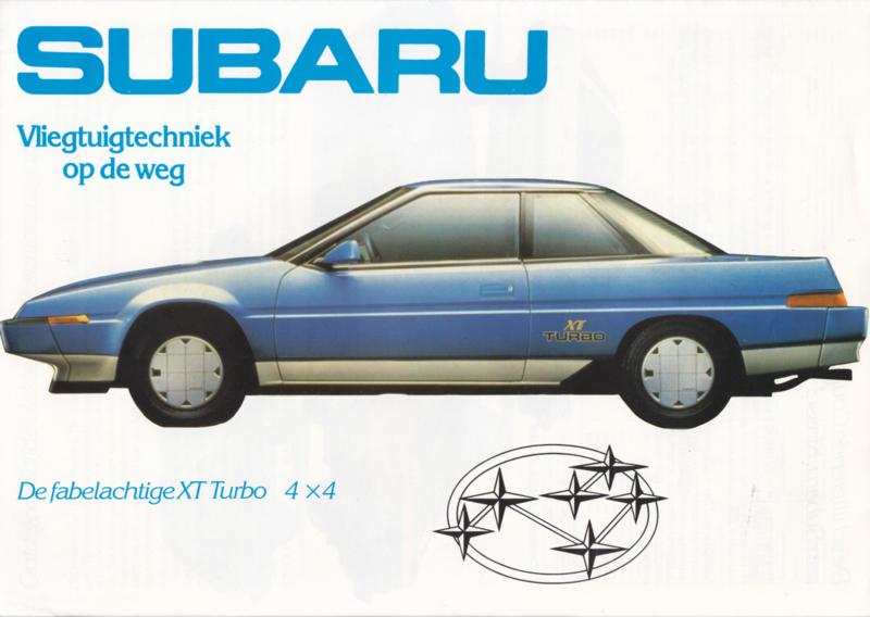 Program brochure, 8 pages, Dutch language, about 1985
