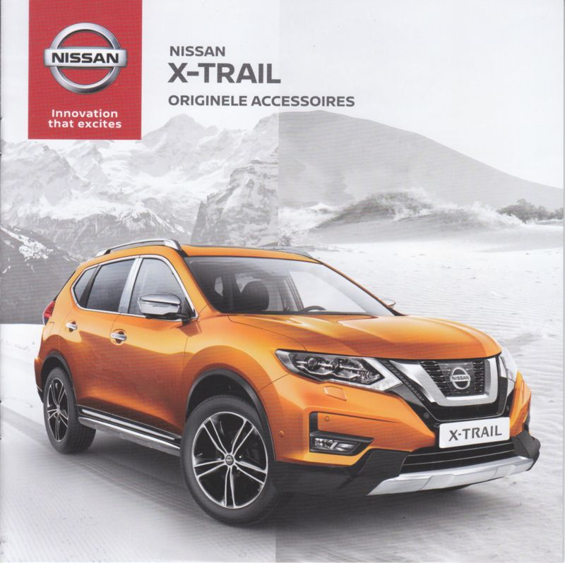 X-Trail accessories brochure, 22pages, 07/2017, Dutch language