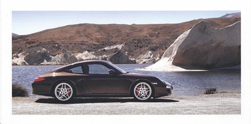 911 Carrera Coupe,  foldcard, 2009, WSRC 0901 01S3 00
