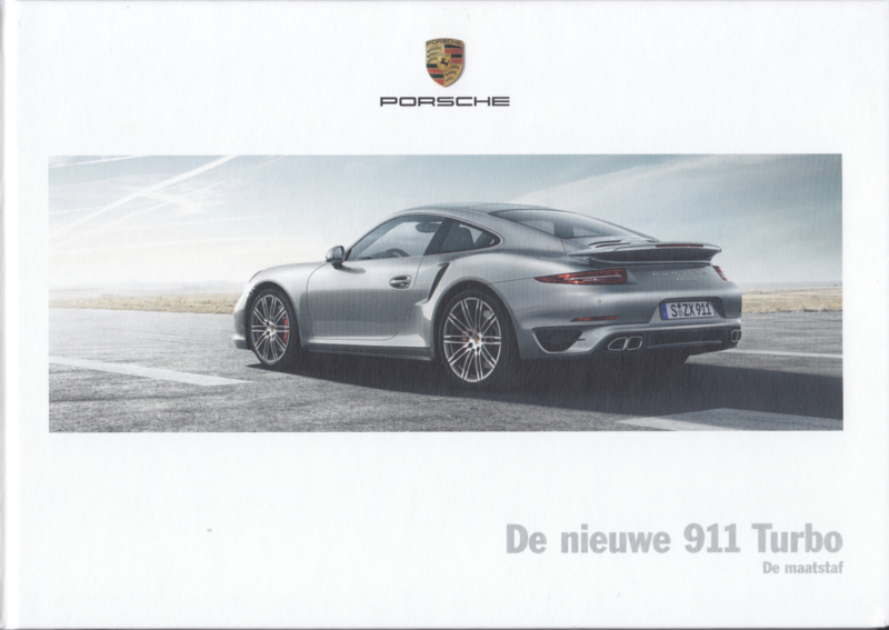 911 Turbo / Turbo S, 116 pages, 05/2013, hard covers, WSLK 1401 0001 91, Dutch