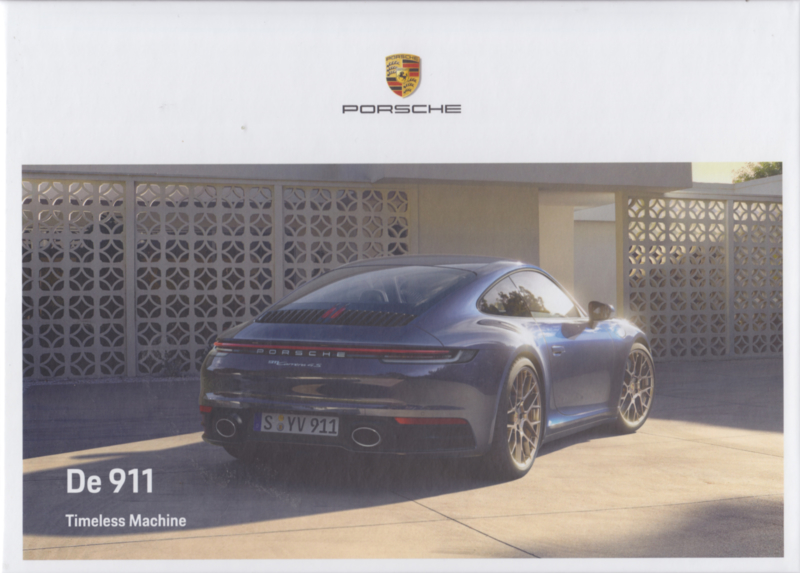 911 Carrera brochure, 112 pages, 05/2020, hard covers, Dutch