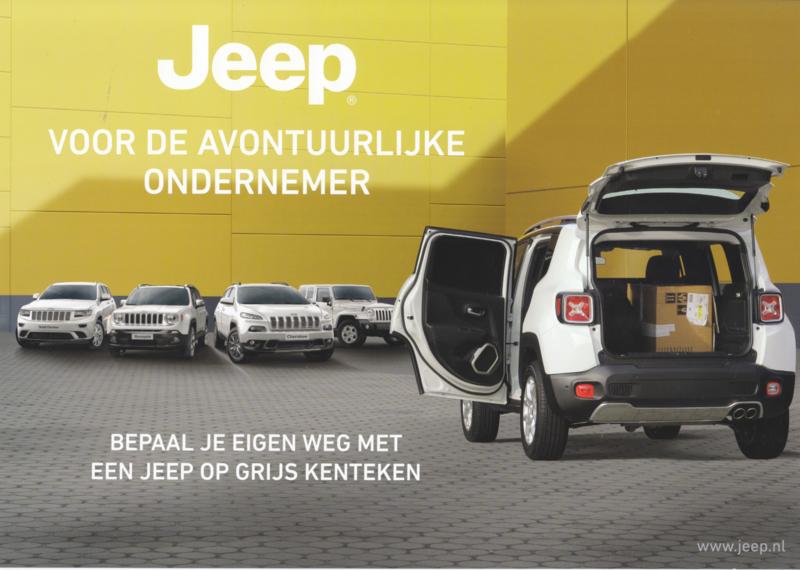 """Program """"Van"""" editions leaflet, 2 pages, 2016, Dutch language"""